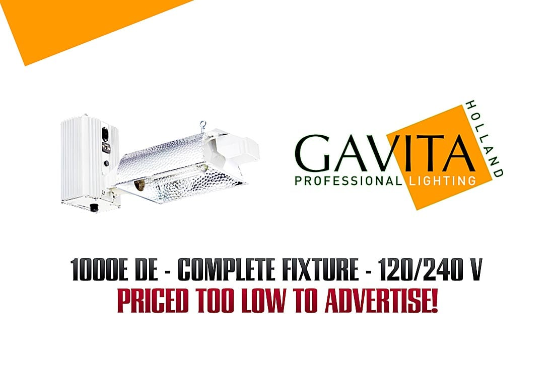 Gavita Ballasts available at all locations!